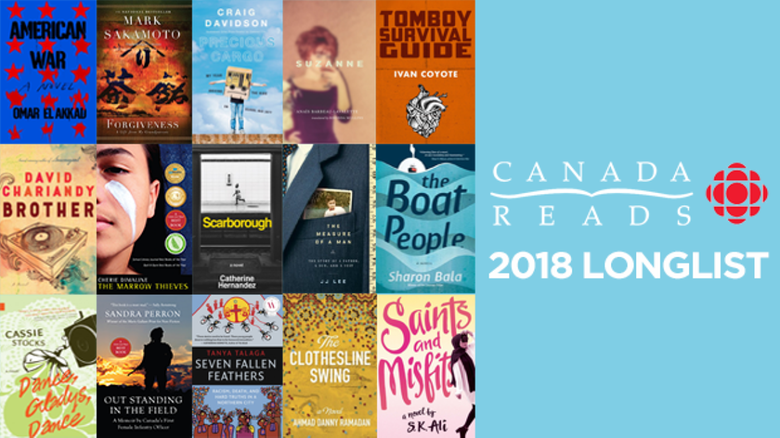 It's Here! 2018 Canada Reads Longlist