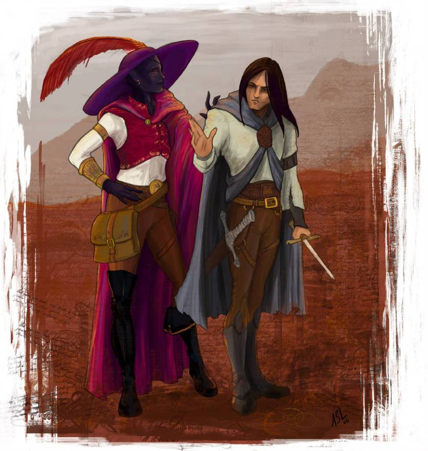 entreri_and_jarlaxle_by_whiteelzora_dnbdtq-pre